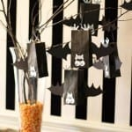 DIY Halloween Bat Treat Bags